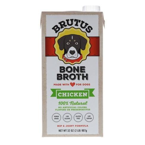 Brutus Bone Broth Hip & Joint Formula Wet Dog Food Supplement Chicken - 32oz - image 1 of 4