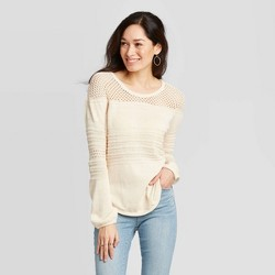 Women's Scoop Neck Pullover Sweater - Knox Rose™