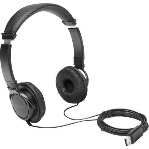 Kensington Hi-Fi USB Headphones - Stereo - USB - Wired - Over-the-head - Binaural - Circumaural - 6 ft Cable - image 1 of 1