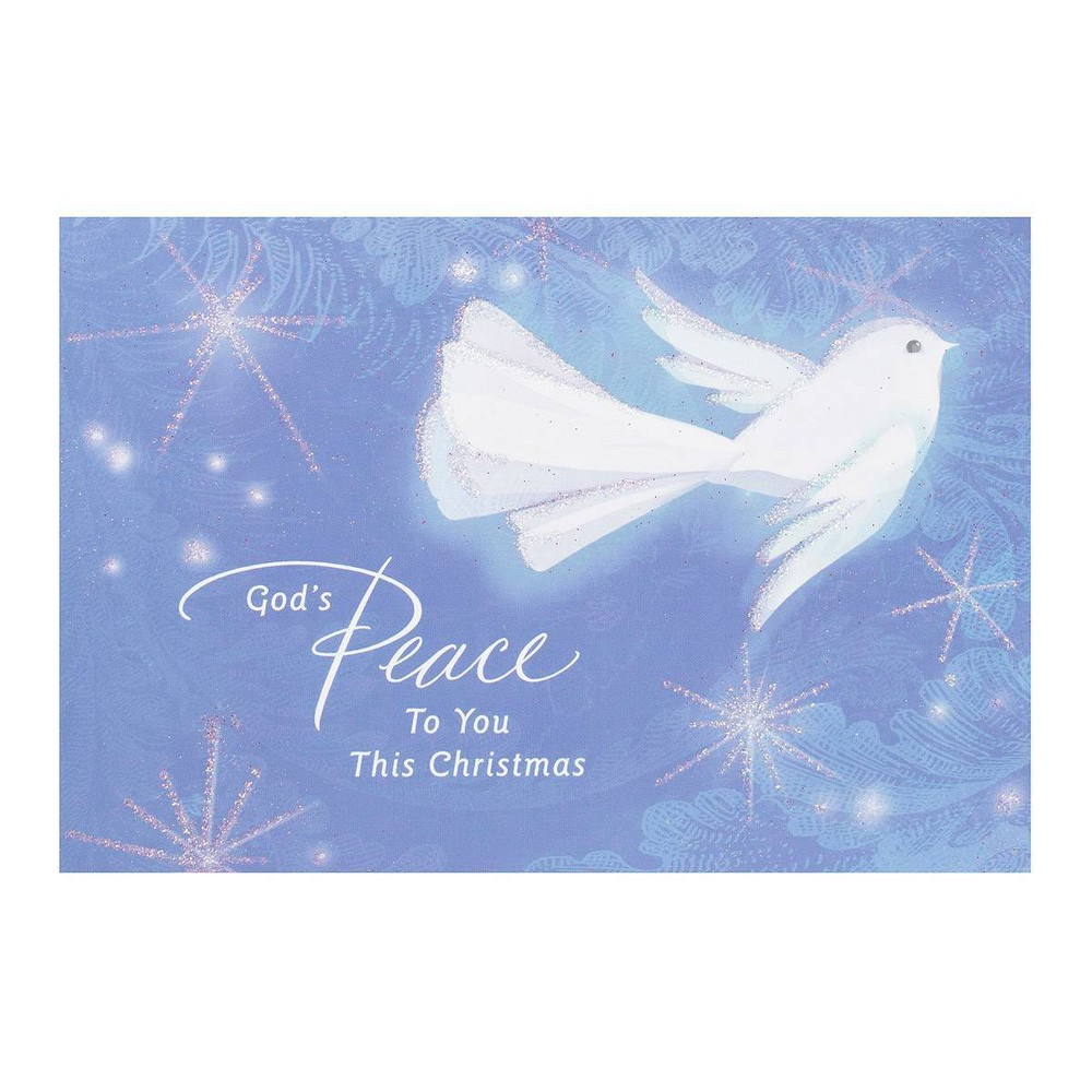 Image of 14ct God's Peace Dove Greeting Card Pack - Dayspring