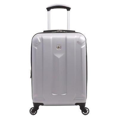 Swissgear zurich 19 hardside spinner carry on suitcase silver target inventory checker for Swissgear geneva 19
