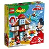 LEGO DUPLO Disney Mickey's Vacation House 10889 Toddler Building Set with Minnie Mouse - image 4 of 4