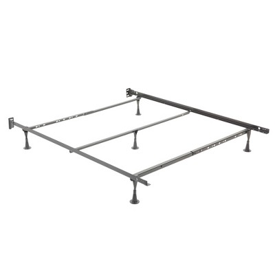 Restmore Adjustable Bed Frame - Black - Full/ Queen - Fashion Bed Group