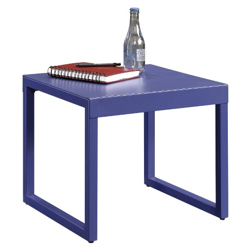 Square1 Accent Metal Construction Table - Berry Blue - Sauder - image 1 of 1