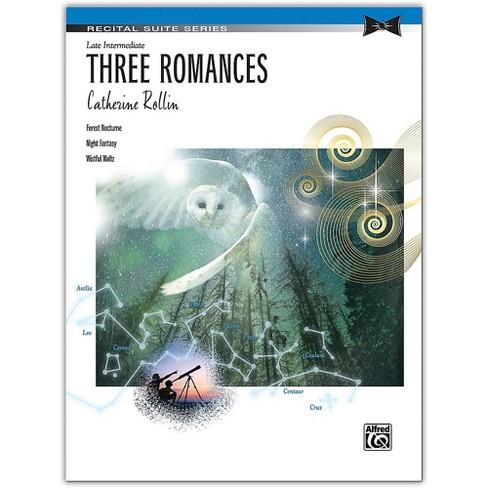 Alfred Three Romances Late Intermediate - image 1 of 1