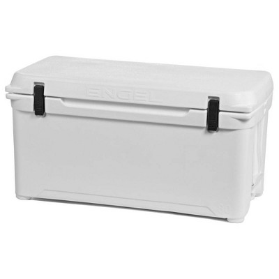 Engel Coolers 76 Quart 96 Can High Performance Roto Molded Ice Cooler, White