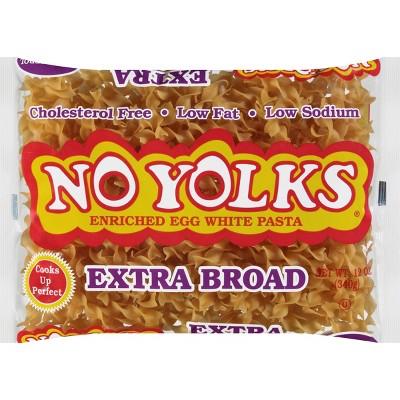 No Yolks Extra Broad Egg Noodles - 12oz