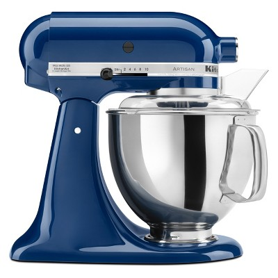 KitchenAid Refurbished Artisan Series Stand Mixer - Blue Willow RRK150BW