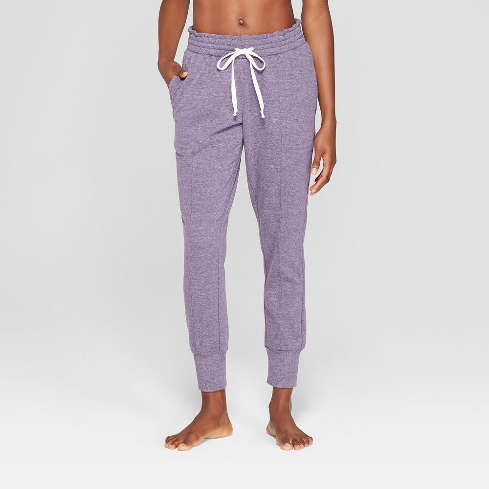 Women's Cozy Jogger Pajama Pants - Xhilaration Purple L