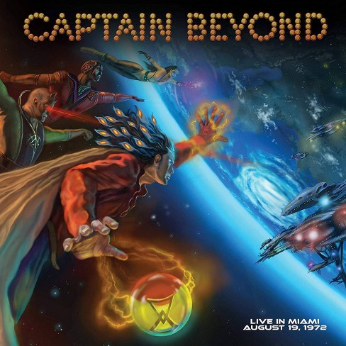 Captain Beyond - Live In Miami: August 19 1972 (CD) - image 1 of 1