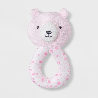 Baby Girls' Bear Loop Rattle - Just One You® made by carter's Pink