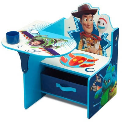Disney Pixar Toy Story 4 Chair Desk with Storage Bin - Delta Children