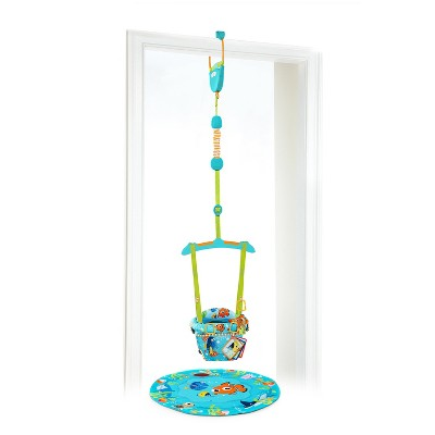 Disney Baby Finding Nemo Sea of Activities Door Jumper - Aqua