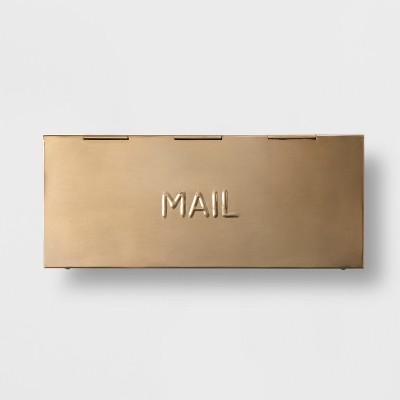 Mailbox - Gold - Smith & Hawken™