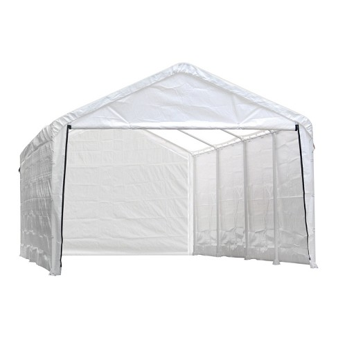 Canopy Enclosure Kit for the Super Max 12' x 26' White (Frame and Canopy Sold Separately) - image 1 of 4