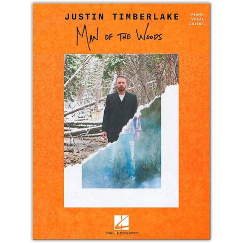 Hal Leonard Justin Timberlake - Man of the Woods - Piano/Vocal/Guitar Songbook - image 1 of 1
