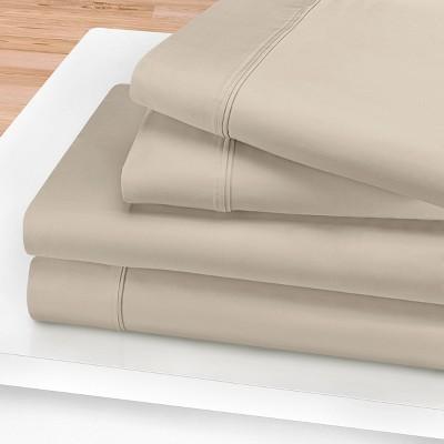 1200-Thread Count Cotton Deep Pocket Sheet Set - Blue Nile Mills