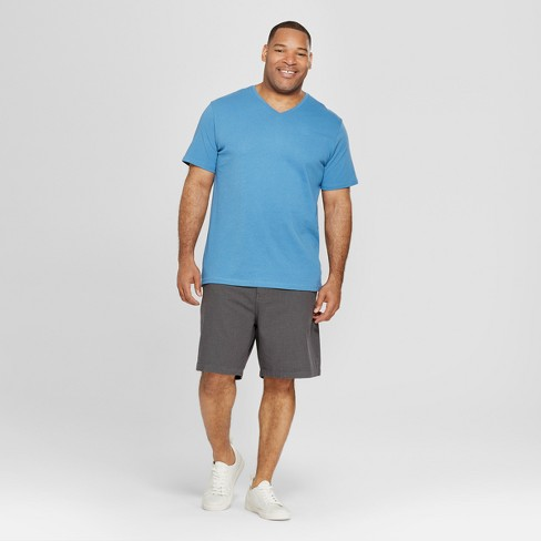 a640d1e4f817 Men's Big & Tall Short Sleeve V-Neck T-Shirt - Goodfellow & Co™ Blue Beam.  Shop all Goodfellow & Co