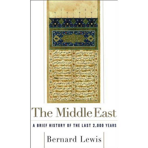 The Middle East - by  Bernard Lewis (Paperback) - image 1 of 1