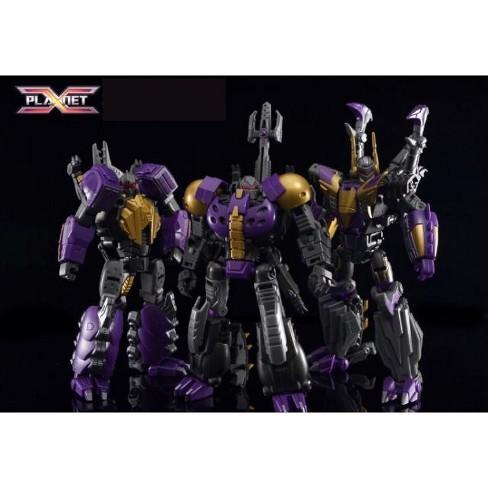Transformers Planet X PX-17 Morpheus PX-18 Phobetor PX-19 Phantasus in Stock