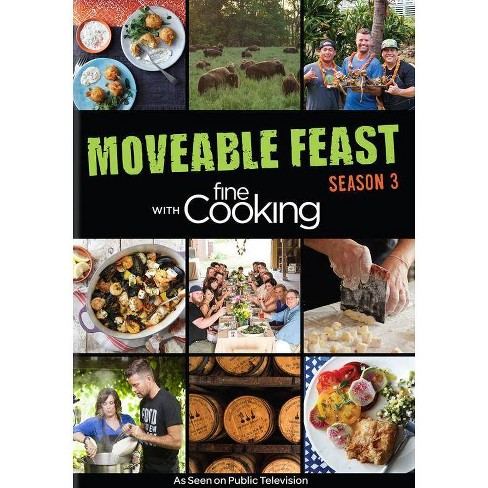 Moveable Feast with Fine Cooking: Season 3 (DVD) - image 1 of 1