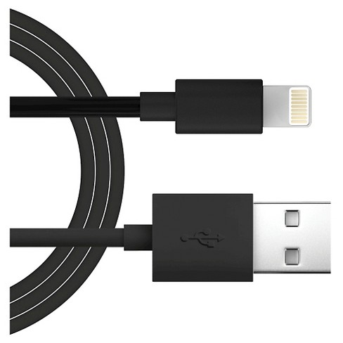 Lighting Charging Cable - Flat Apple 8 Pin 3' - image 1 of 1