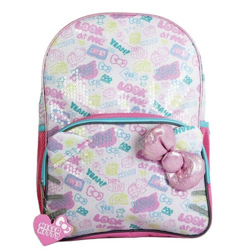 "Hello Kitty 16"" Kids' Sequin Backpack - Pink - image 1 of 4"