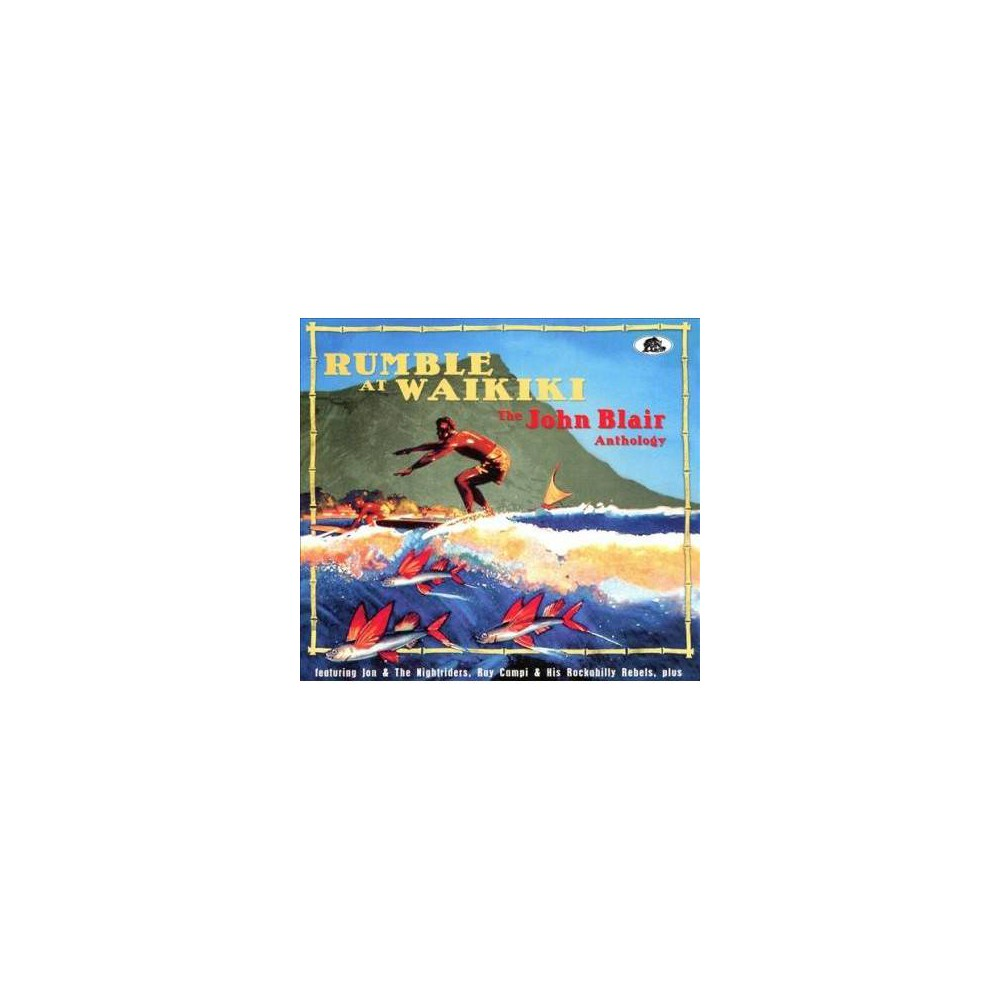 Various - Rumble At Waikiki:John Blair Antholog (CD)