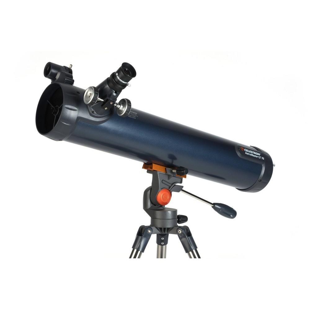 Image of Celestron AstroMaster LT 76AZ Telescope - Blue