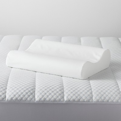 Contour Memory Foam Pillow (Standard/Queen)White - Made By Design™