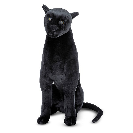 Melissa & Doug Giant Panther - Lifelike Stuffed Animal (nearly 3 feet tall) image number null