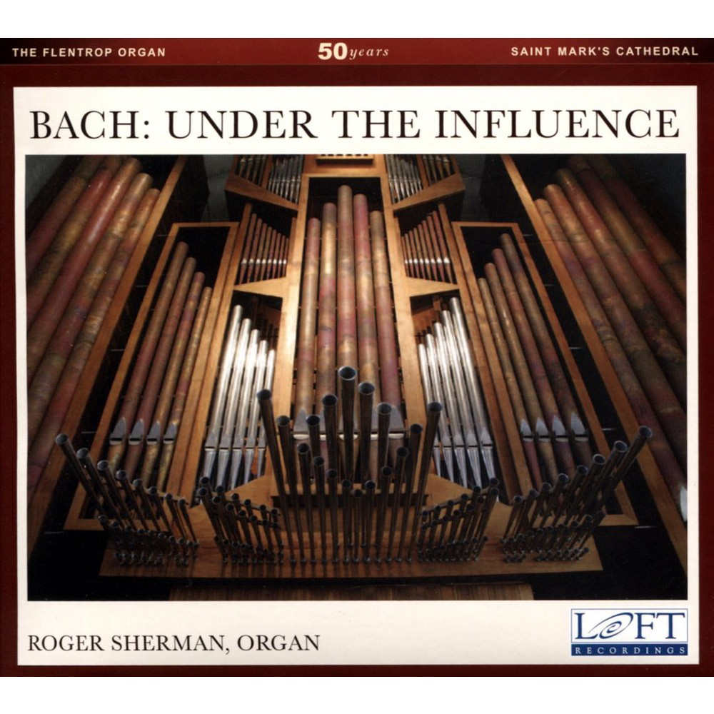 Roger Sherman - Bach:Under The Influence (CD)