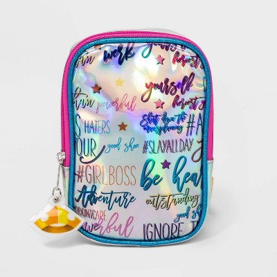 Girls' Disney Princess Royally Fierce Crossbody Bag - Blue