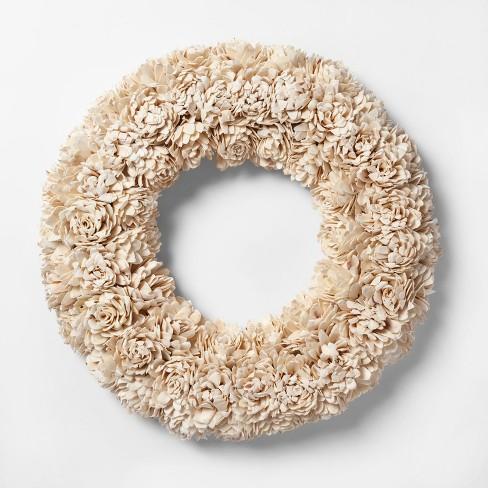 "21.2"" Decorative Dried Wreath - Smith & Hawken™ - image 1 of 1"