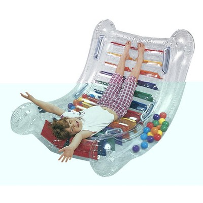 Abilitations Inflatable SensaRock with Balls, 53 x 40 Inches