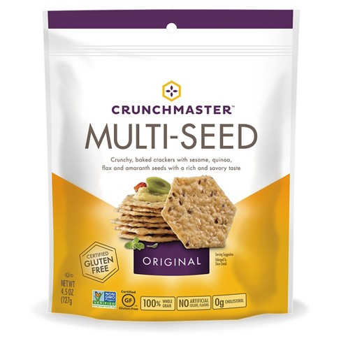 Crunchmaster Multi-Seed Original Crackers 4.5oz - image 1 of 1