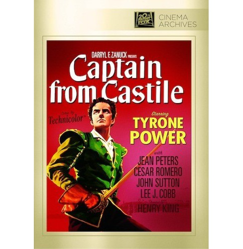 Captain From Castile (DVD) - image 1 of 1