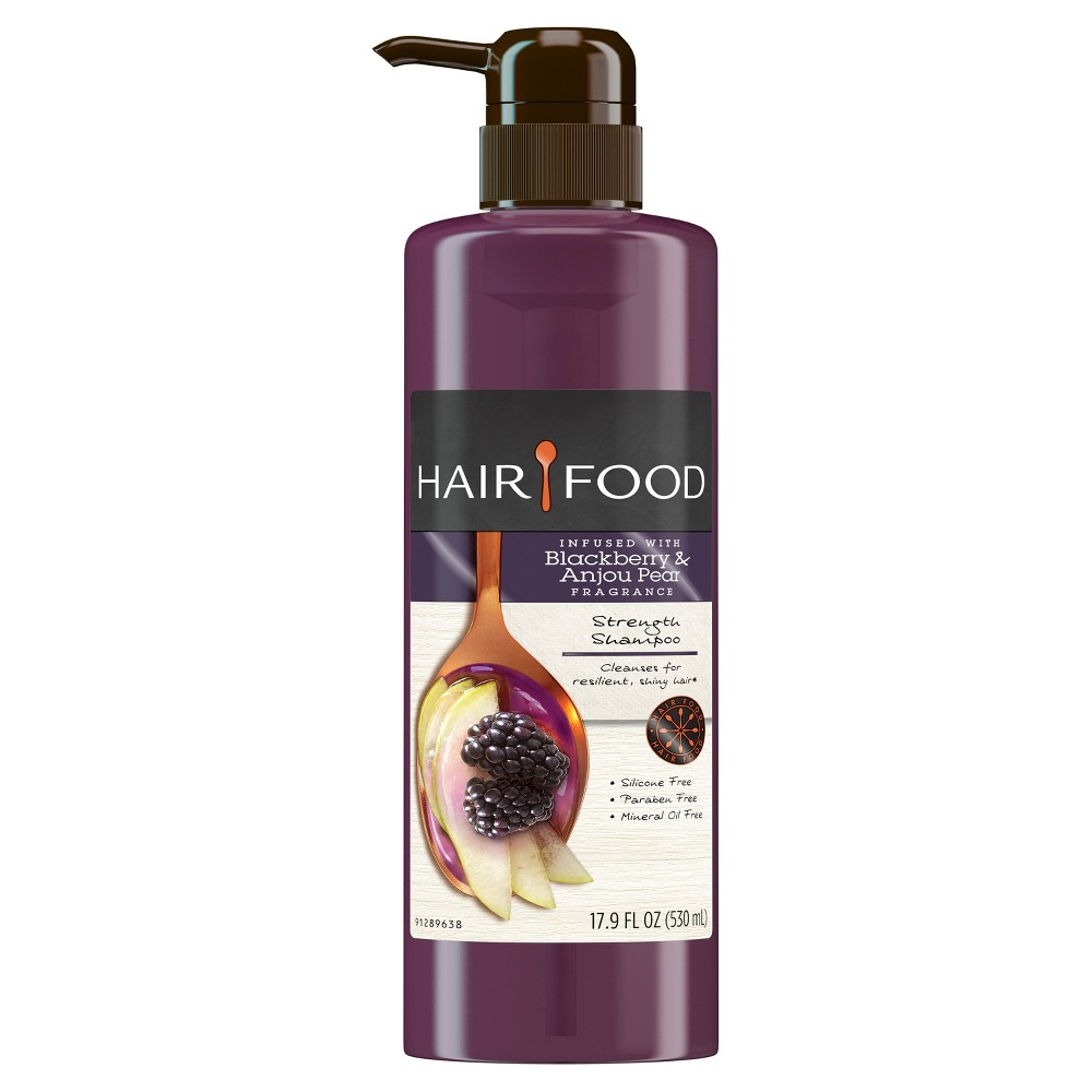 Hair Food Blackberry & Anjou Pear Strength Shampoo - 17.9 fl oz