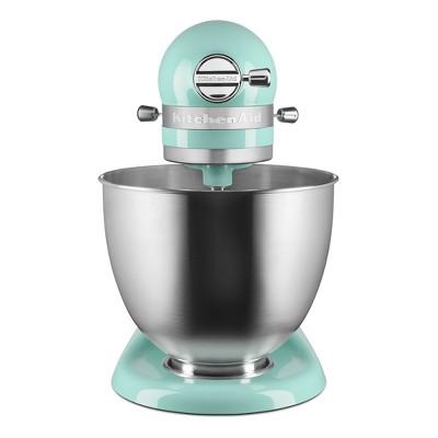 Bon KitchenAid Refurbished Artisan Mini 3.5qt Tilt Head Stand Mixer Ice Blue    RKSM33XXIC : Target