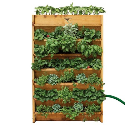 Vertical Rectangle Garden - Assembled - Unfinished - Gronomics