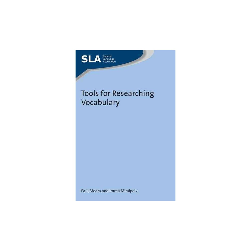 Tools for Researching Vocabulary (Paperback) (Paul Meara & Imma Miralpeix)