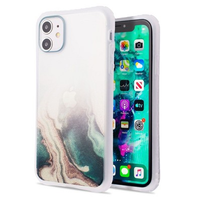 Insten Bling 3D Construction TPU IMD Case Cover with Bumper For iPhone 11 / iPhone SE 2020 (2nd Generation)
