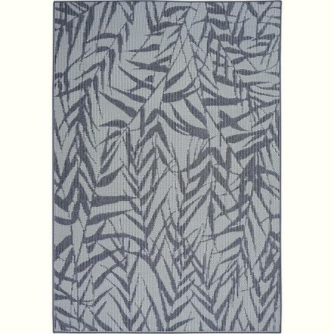 Nourison Calabas CLB06 Light Blue/Slate Indoor/Outdoor Area Rug - image 1 of 4