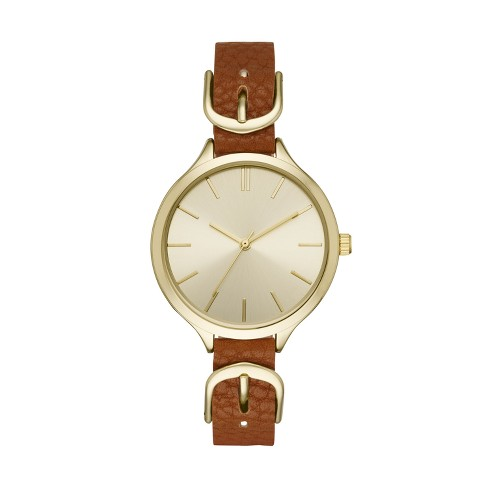 Women's Buckle Strap Watch - A New Day™ - image 1 of 1