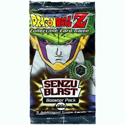 Dragon Ball Z Collectible Card Game Cell Games Senzu Blast Booster Pack - image 1 of 1
