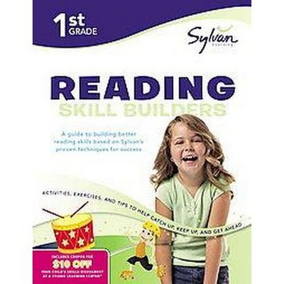 1st Grade Reading Skill Builders (paperback) By Learning Sylvan : Target