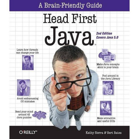 Head First Java - 2 Edition by  Kathy Sierra & Bert Bates (Paperback) - image 1 of 1