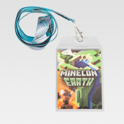 Minecraft MINECON Earth Lanyard - image 1 of 4