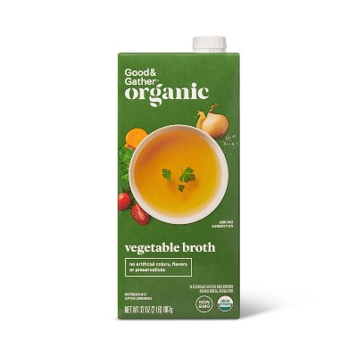 Organic Vegetable Broth - 32oz - Good & Gather™