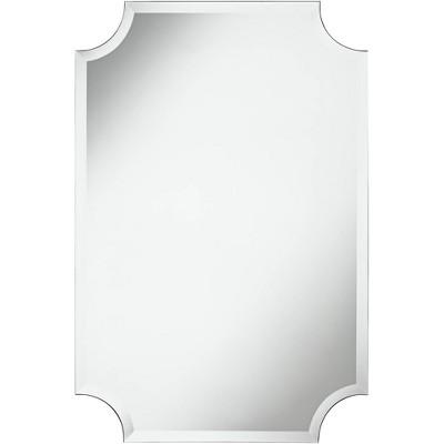 "Noble Park Brix 24"" x 36"" Frameless Cut Corner Vanity Mirror"